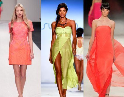 Culorile verii 2013 in moda pentru mamici si copii