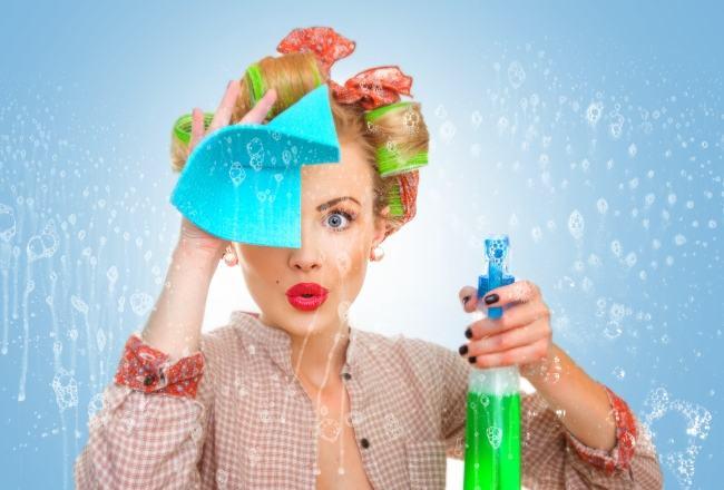 Trucuri pentru curatenie - amestecuri de ingrediente obisnuite care iti fac casa luna
