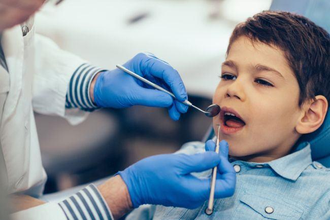 Demineralizarea smaltului la copii