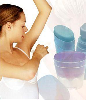 Top deodorante de dama