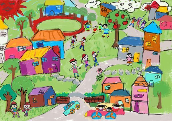 Cum sa interpretezi culorile in desenele copiilor?