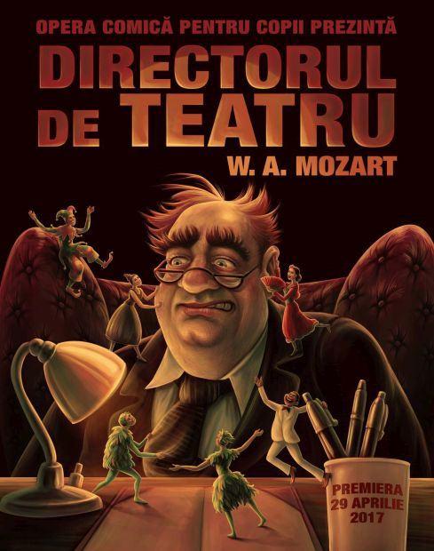 Gala OCC si premiera spectacolului Directorul de Teatru, in acest weekend la Opera Comica pentru Copii