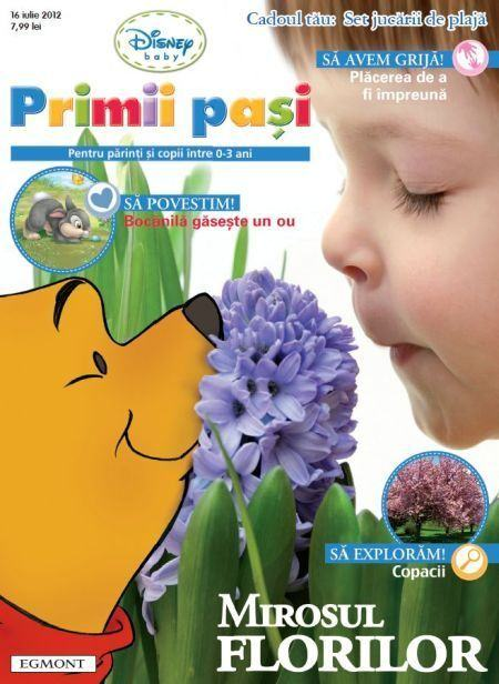 Revista Disney Baby Primii pasi