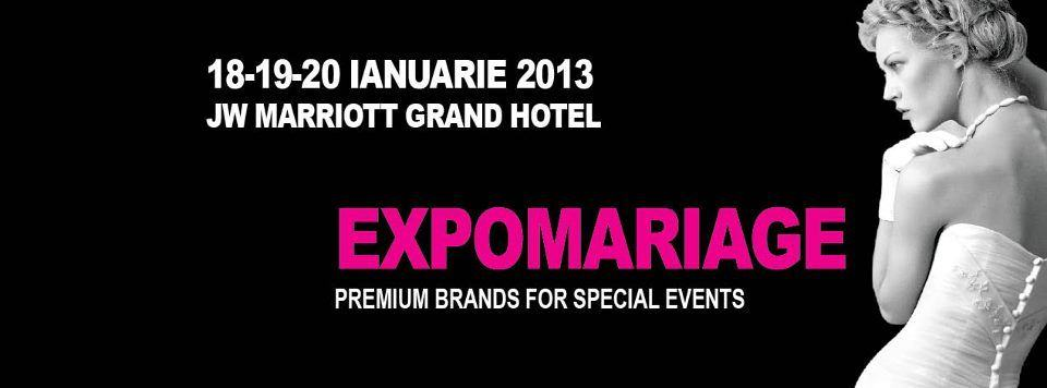 Editia XIV-a EXPOMARIAGE, Bucuresti 2013