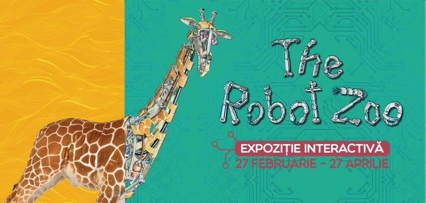 Expozitia interactiva The Robot Zoo
