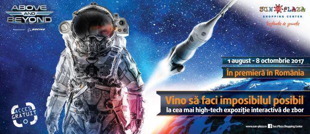 Expozitie aeronautica si aerospatiala blockbuster la Sun Plaza intre 1 august si 8 octombrie