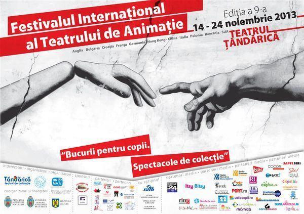 Program Festivalul International al Teatrului de Animatie, editia a 9-a