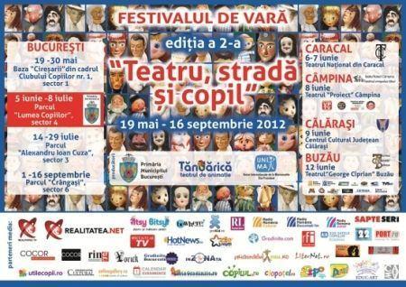 Festivalul de vara al Teatrului Tandarica continua in forta