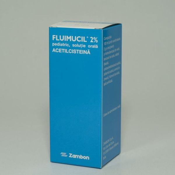 Fluimucil 2% pediatric