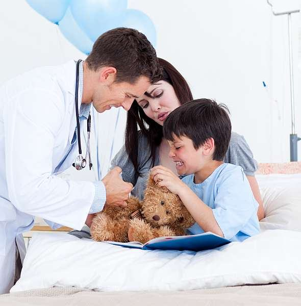 Frica de medic la copii