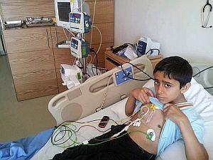 Un esantion de sange ombilical eliberat de Future Health a ajutat la insanatosirea unui  adolescent