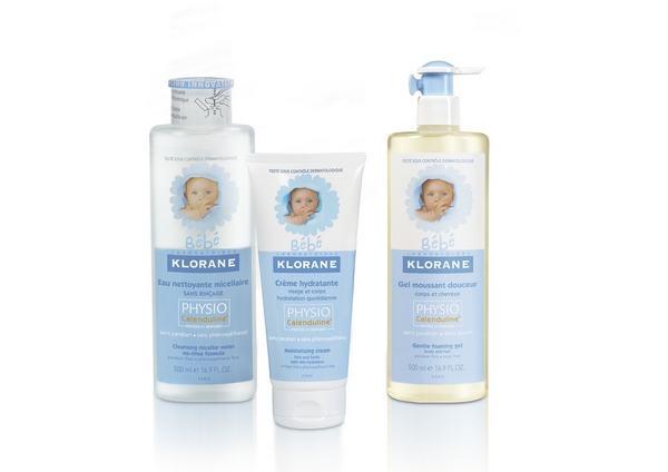 Klorane Bebe lanseaza o formula noua pentru protectia naturala a pielii bebelusilor