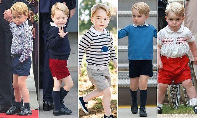 De ce printul George poarta mereu pantaloni scurti