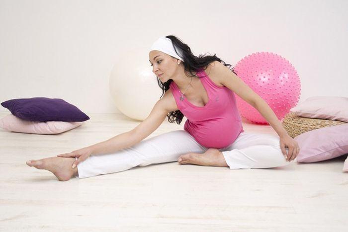 Gimnastica in pregatirea pentru nastere