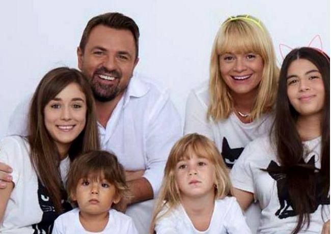Horia Brenciu are patru copii si ar mai vrea unul: Oricand este binevenit un micut in familia mea