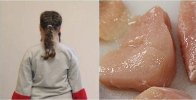 Riscuri pentru sanatate: fetita imbatranita cu doi ani din cauza hormonilor din carnea de pui