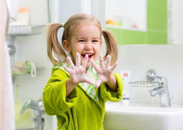 Igiena excesiva nu este buna pentru sanatatea copiilor