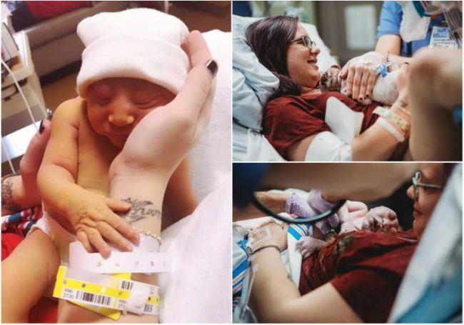 """Bebelusul folosit pentru """"piese de schimb"""". Aceasta fetita a fost adusa pe lume de parinti pentru a salva alte vieti"""