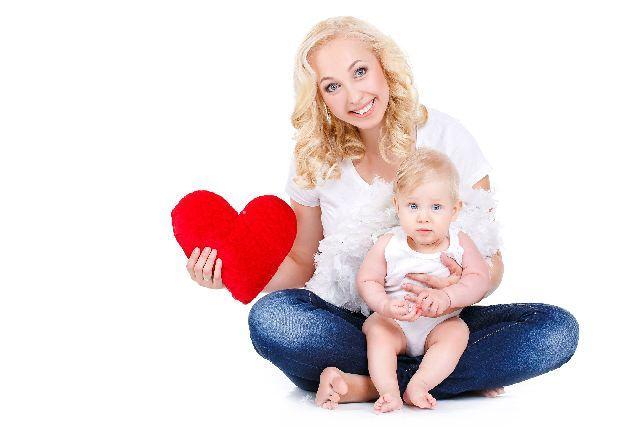 iubire mama copil