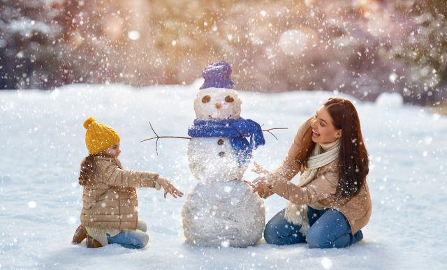 Activitati distractive de facut cu copilul intre Craciun si Revelion