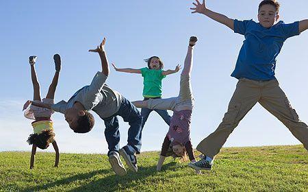 5 modalitati sa mentii copilul mic activ