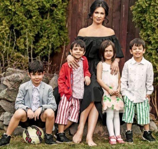 Nicoleta Luciu, viata in izolare cu patru copii. Ce dieta tine vedeta in aceasta perioada