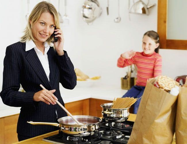 Ce sa nu spui niciodata unei mame care lucreaza