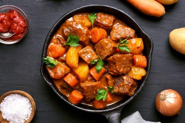 Carne de manzat la cuptor