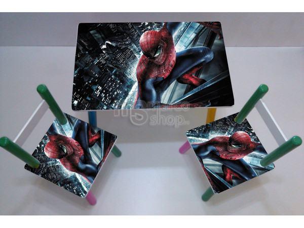 masa_cu_scaune_spiderman