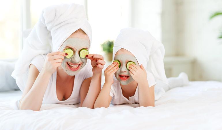 Masti de fata homemade pentru mamicile obosite