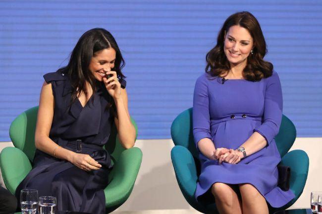 Motivul surprinzator pentru care Meghan Markle si Kate Middleton poarta rochii scurte in timpul sarcinii