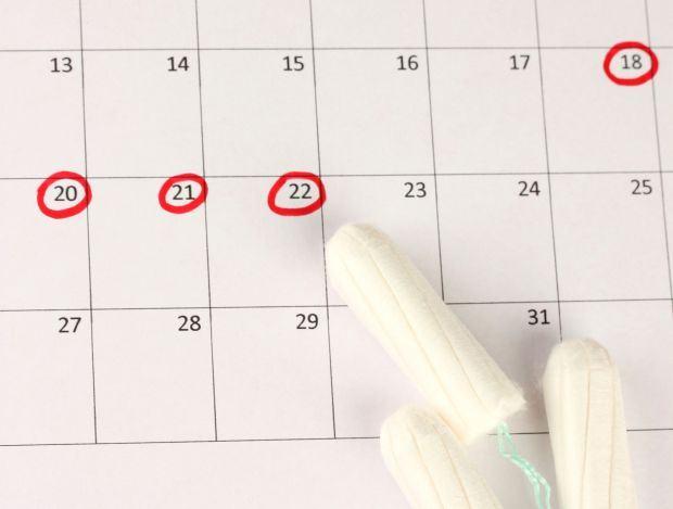 menstruatie-neregulata