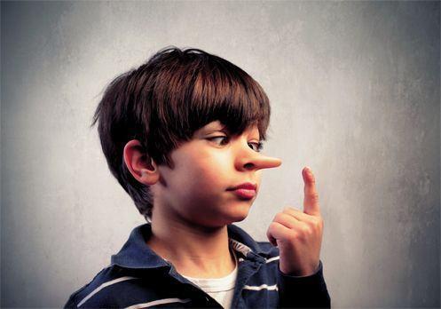 Cum stii cand copilul minte?