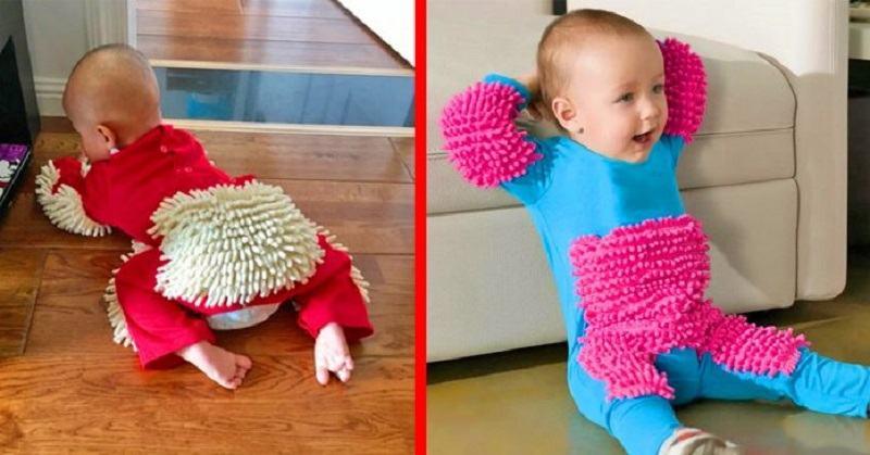 A aparut pijamaua - mop pentru copii. Are si ghid de utilizare