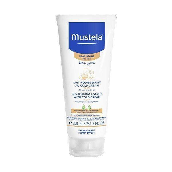 Lotiune nutritiva cu Cold Cream de la Mustela