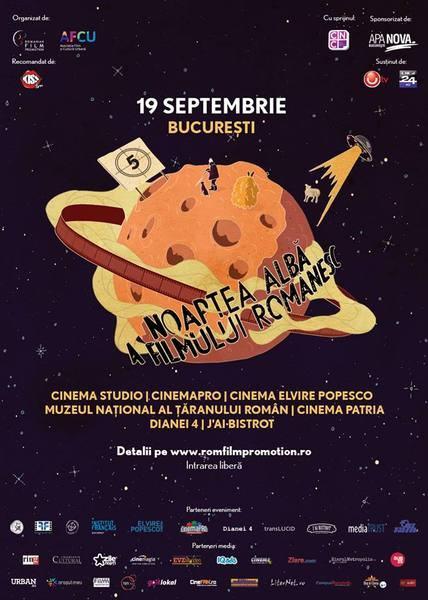 Noaptea alba si gratuita a Filmului Romanesc