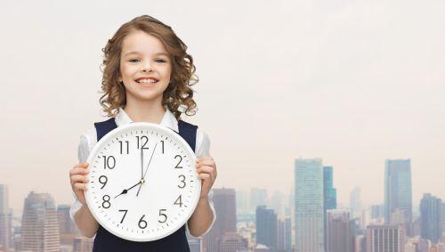 Cum ii explici copilului notiunea de timp