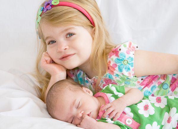 Regresul copiilor cand vine un fratior mai mic