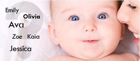 Numele copilului - o alegere pentru toata viata