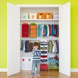 Cum sa organizezi dulapul copilului