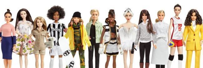 Noile papusi Barbie sunt inspirate de femei celebre din istorie