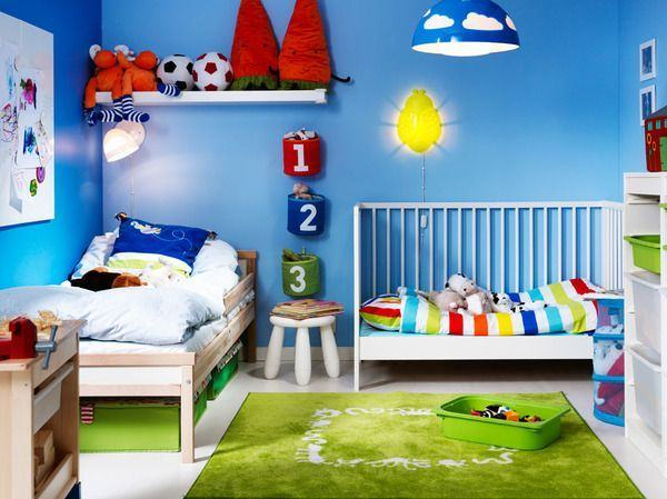Idei de decorare pentru dormitorul impartit de frati