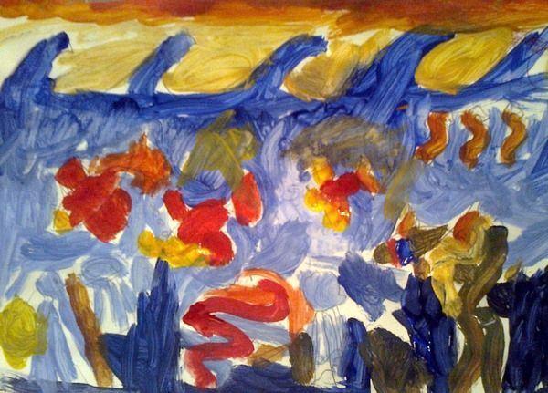 Culorile si formele copilariei, curs de pictura creativa pentru copii de 4-6 ani