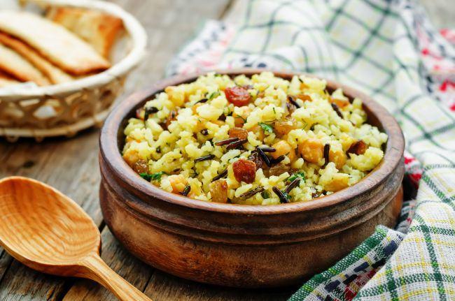 pilaf-legume