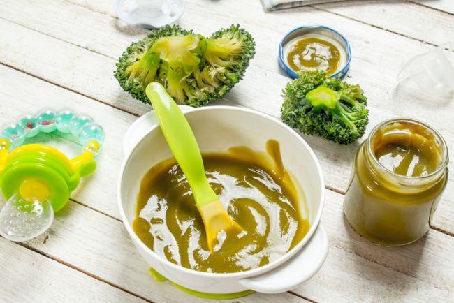 Piure de conopida si broccoli