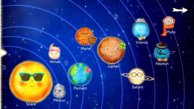 Povestea Sistemului Solar, pe intelesul copiilor