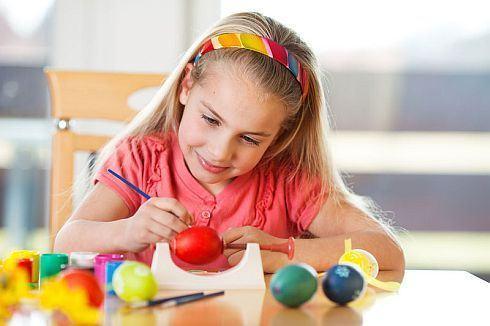 Cum implici copilul in pregatirile de Paste?