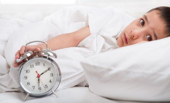De ce nu poate dormi copilul