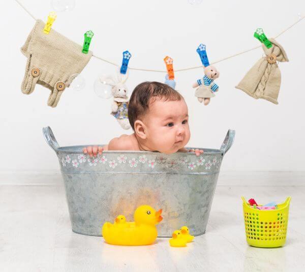 Produse pentru baia bebelusului