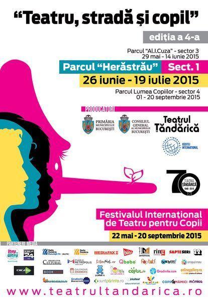 Teatrul itinerant Tandarica se muta in parcul Herastrau